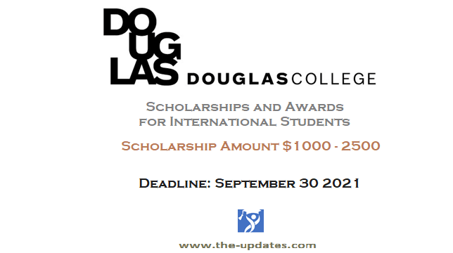 douglas college canada scholarships 2021-2022
