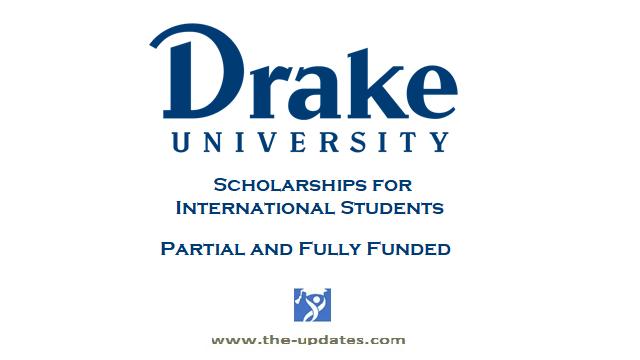 Undergraduate scholarships Drake University USA 2021-2022