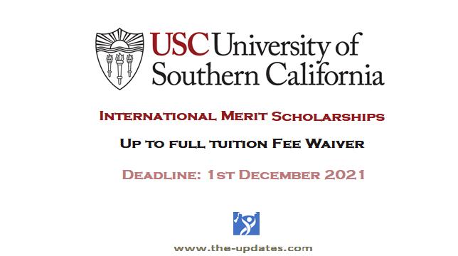 International-merit-scholarship-USC-USA-2021-20222