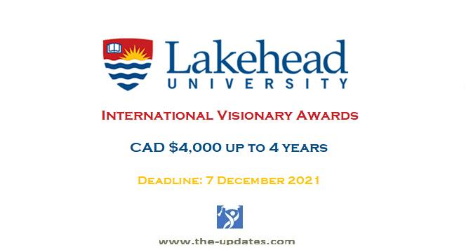 International Visionary Awards at Lakehead University Canada 2022