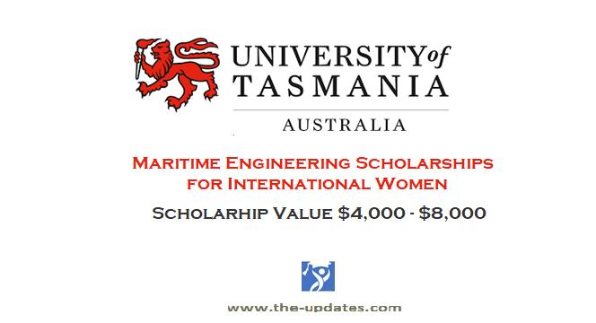 International Women in Maritime Engineering Scholarship University of Tasmania Australia