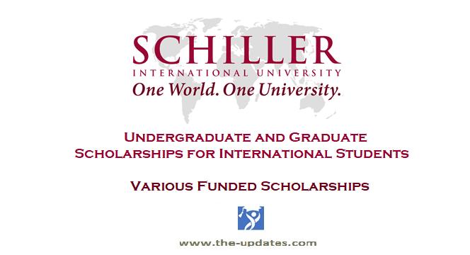 Undergraduate and Graduate International Scholarship USA 2021-2022