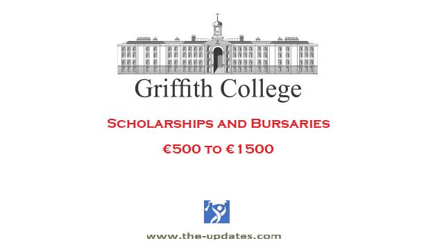 Scholarships and Bursaries at Griffith College Dublin Ireland 2021-2022