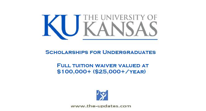 International Distinction Scholarship Awards University of Kansas USA 2021-2022