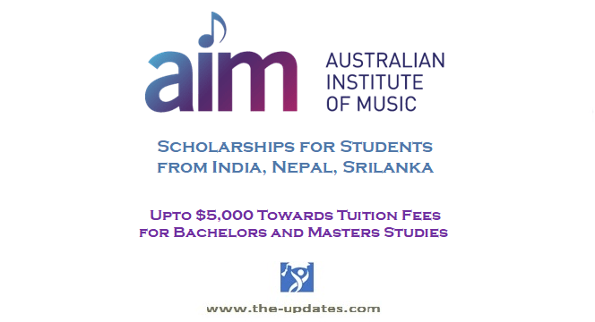 Music Scholarships for Students from India, Nepal, Srilanka