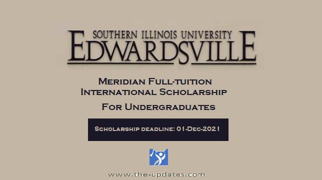 Full-tuition International Scholarship at Southern Illinois University Edwardsville USA