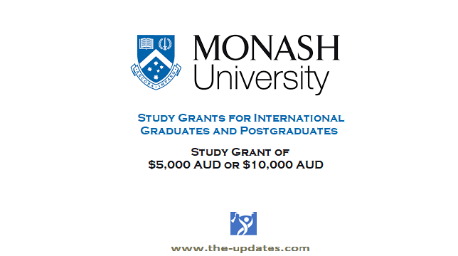 International Study Grants at Monash University Australia