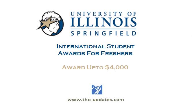 International Student Awards at The University of Illinois Springfield USA