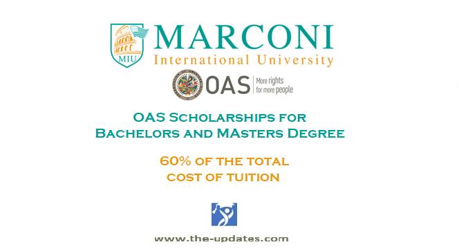 OAS Scholarships at Marconi International University (MIU) USA