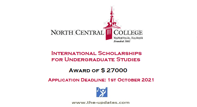 International Honors Scholarship at North Central College USA