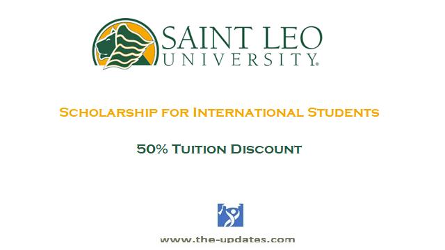 Saint Leo University 50% Tuition Scholarship for International Students USA