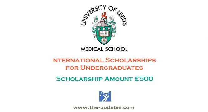 John Gilbert Vause Memorial International Scholarship at University of Leeds