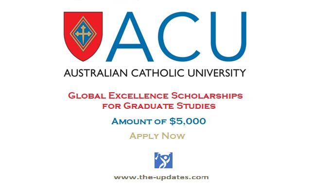 Global Excellence Scholarships at Australian Catholic University