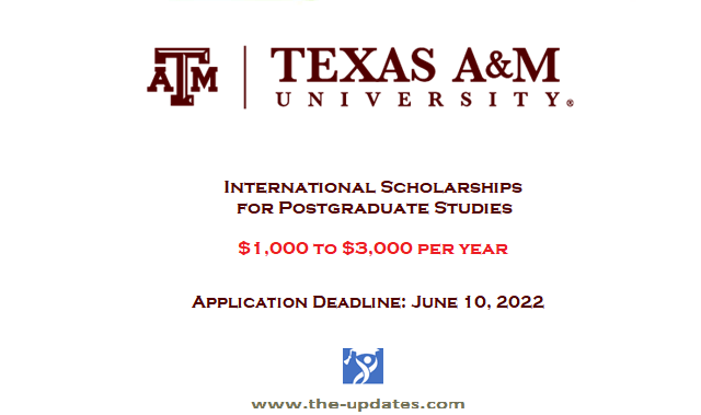 New and Continuing International Scholarships at University of Texas USA