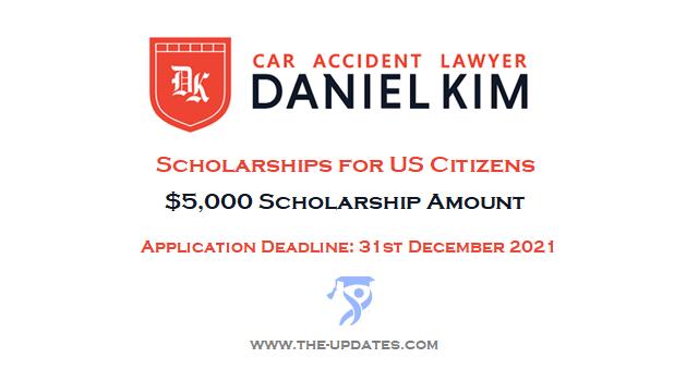 The Law Offices of Daniel Kim Scholarship for Undergraduates