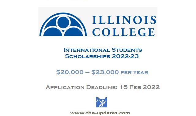 International Student Scholarship at Illinois College USA