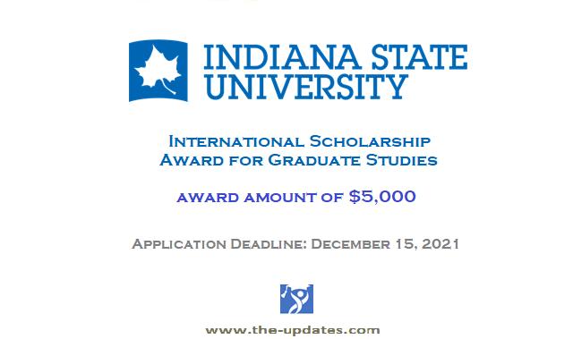 International Scholar Awards at Indiana State University USA