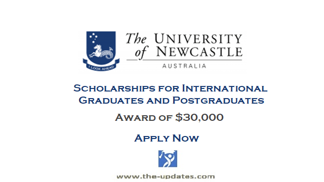 Onshore Excellence Scholarship at the University of New Castle Australia