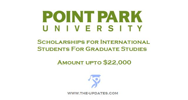 Merit-based Freshman International Scholarship at Point Park University USA