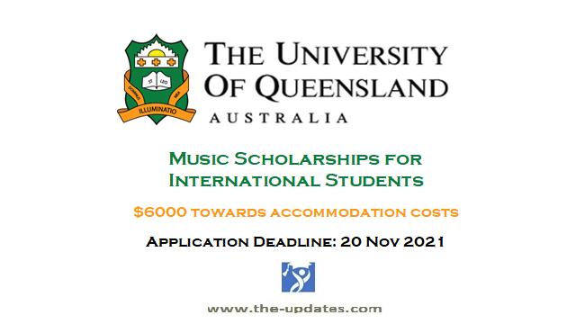 Music Achievement International Scholarship at St Leo College University of Queensland Australia