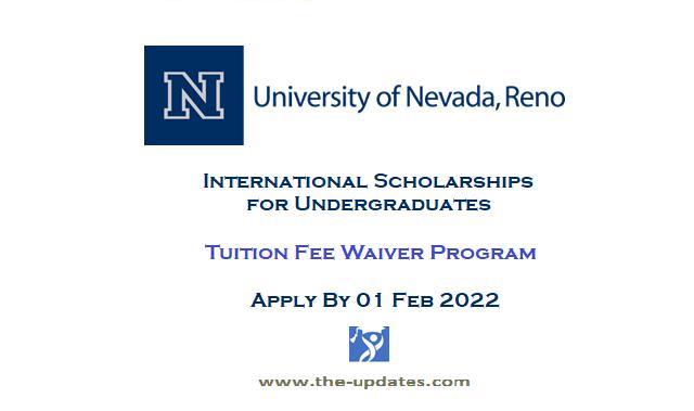 International Student Scholarships at University of Nevada Reno