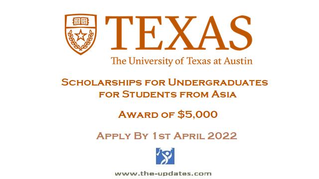 Limura Peace Endowed Scholarship at University of Texas USA 2022-23